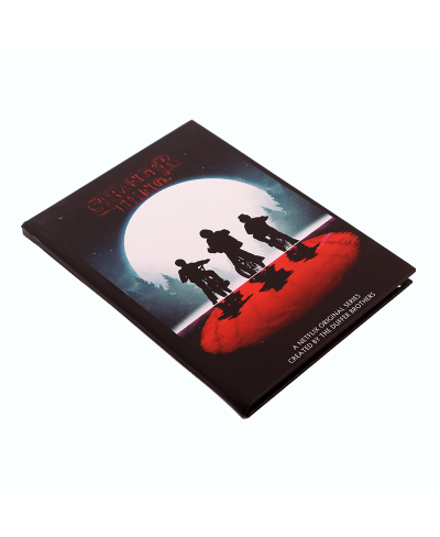 Stranger Things Red Moon Defter