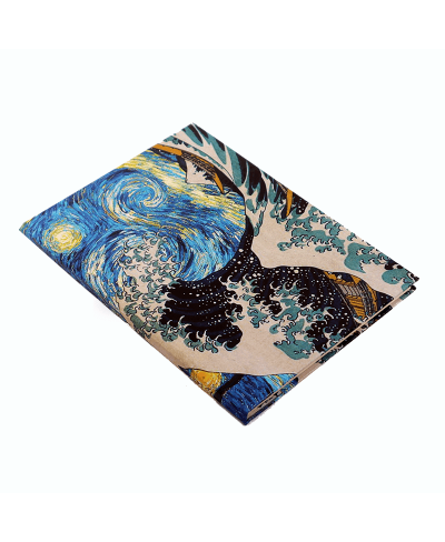 Art Starry Night & The Great Wave Defter