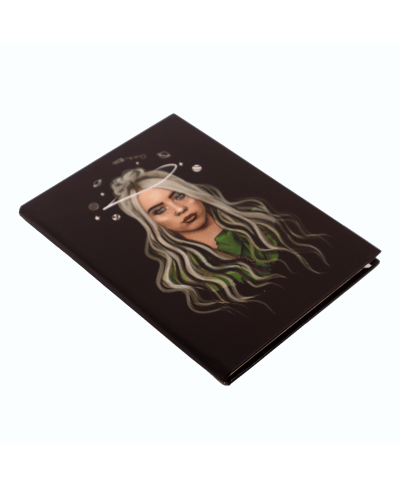 Billie Eilish Galaxy Defter