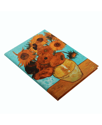 Vincent Van Gogh Sunflowers Defter