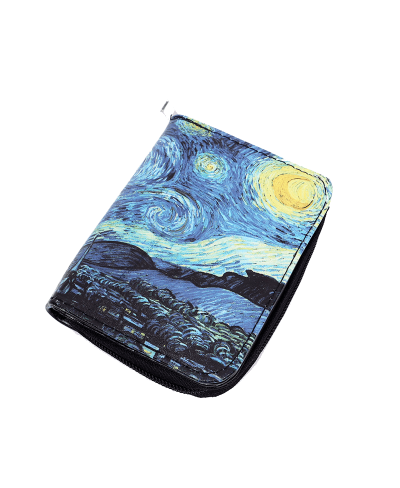 Van Gogh The Starry Night Cüzdan