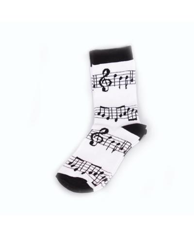 Müzik Nota Spor Çorap