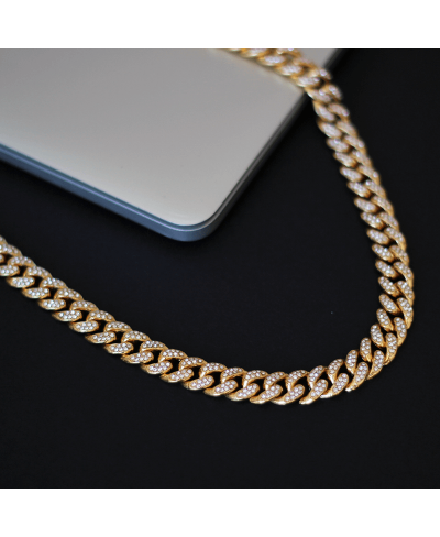 Gold Cuban Chain Kolye