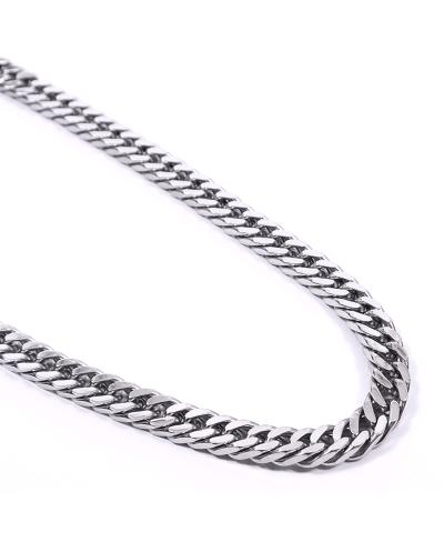 Silver İthal 316L Çelik Zincir Kolye 2