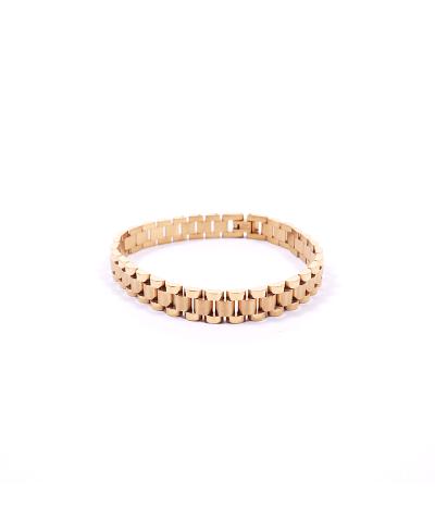 Gold 316L Çelik Erkek Bileklik