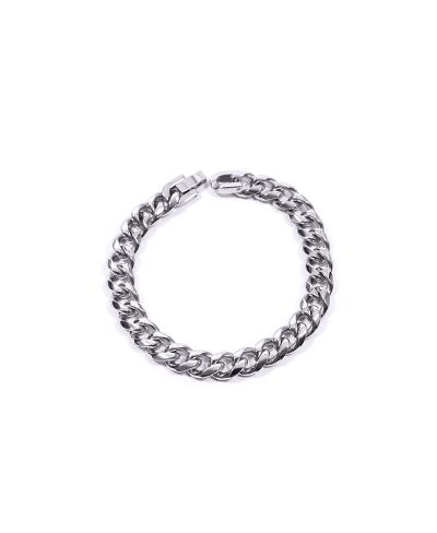 Silver Zincir 316L Çelik Erkek Bileklik
