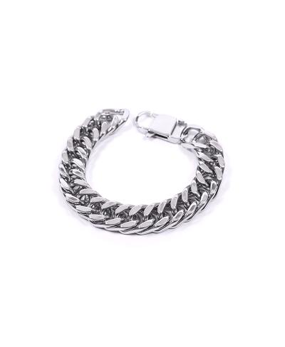 Silver Zincir 316L Çelik Erkek Bileklik 3