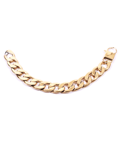 Gold Zincir 316L Çelik Erkek Bileklik