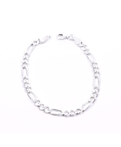 Gümüş Zincir Erkek Bileklik 3