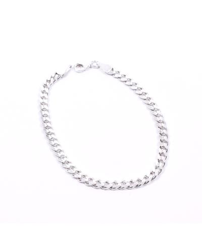 Gümüş Zincir Erkek Bileklik 4