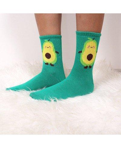 Avokado Spor Çorap