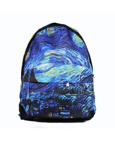 Van Gogh The Starry Night Sırt Çantası