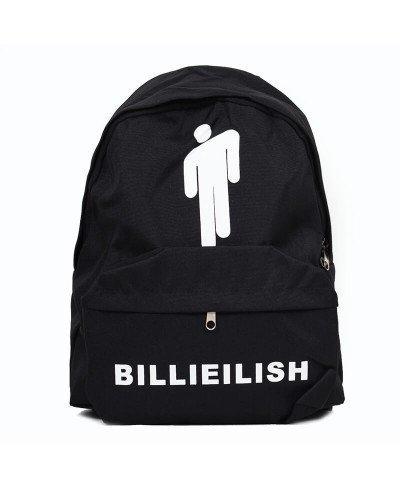 Billie Eilish Siyah Sırt Çantası