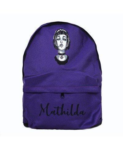 Mathilda Mor Sırt Çantası