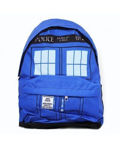 Doctor Who Tardis Sırt Çantası