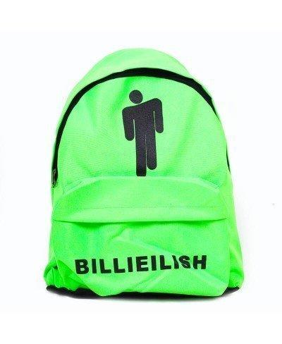 Billie Eilish Yeşil Sırt Çantası