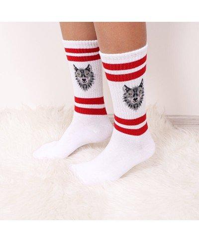 Kurt Desenli Spor Çorap