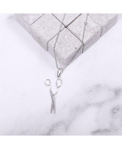 Makas Gümüş Kolye
