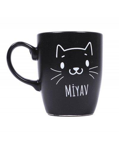 Miyav Siyah Kupa Bardak